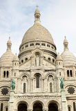 Basilique du Sacre Coeur, Paris, France. Basilica Sacre Coeur on Montmartre, Paris Stock Photos
