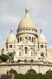 Basilique du Sacre Coeur, Paris, France. Basilica Sacre Coeur on Montmartre, Paris Stock Photo