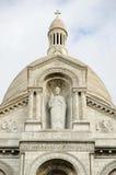 Basilique du Sacre Coeur, Paris, France. Basilica Sacre Coeur on Montmartre, Paris Royalty Free Stock Photography