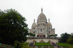 Basilique du Sacre Coeur Royalty Free Stock Photography