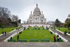 Basilique Du Sacre Coeur, Paris stock photography