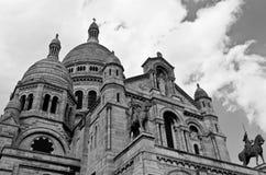 Basilique du Sacre Coeur - Paris, Frankrike Royaltyfri Foto