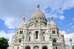Basilique du Sacre Coeur - Paris, Frankrike Royaltyfria Bilder