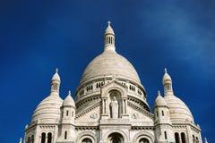 Basilique Du sacre-Coeur w Paryż Zdjęcie Stock