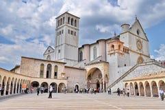 Basilique du St Francis d'Assisi Images libres de droits