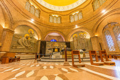 Basilique du tombeau national de notre dame d'Aparecida dans Braz Image libre de droits
