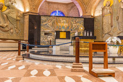 Basilique du tombeau national de notre dame d'Aparecida dans Braz Photos stock