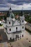 Basilique en Pologne Photo stock