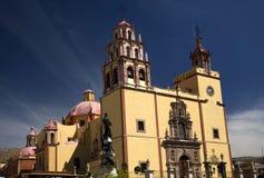 Basilique Guanajuato Mexique Image stock