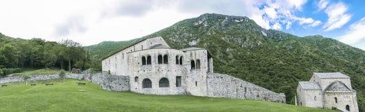 Basilique médiévale image stock