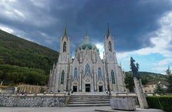 Basilique Madonna Addolorata Photographie stock libre de droits