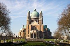 Basilique Nacional du Sacre-Coeur Fotografia de Stock Royalty Free