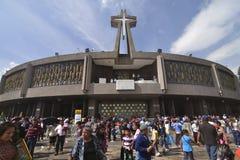 Basilique neuve Mexico Photos libres de droits