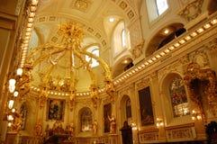 Basilique Notre-Dama-de-Quebec Foto de archivo libre de regalías