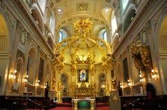 Basilique Notre-Dama-de-Quebeque Imagem de Stock Royalty Free