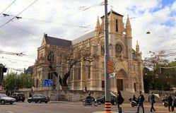 Basilique Notre Dame de吉恩威 免版税库存照片