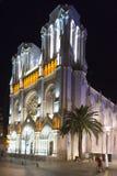 Basilique Notre-Dame de l'Assomption, Nice, Frankrike arkivbild