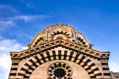 Basilique Notre-Dame de la Garde stock image