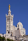 Basilique Notre-Dame-De-La-Garde, Marseille Images stock