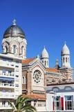 Basilique Notre Dame de la Victoire in Saint-Raphael Stock Image