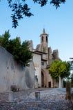 Basilique Notre Dame de Marceille in Limoux Stock Image