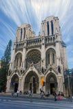 Basilique Notre Dame de Nice royaltyfria foton