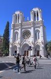 Basilique Notre Dame de Nice,France. Royalty Free Stock Images