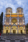 Basilique Notre Dame de Nice, France Royalty Free Stock Photos