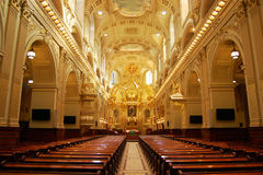 Basilique Notre-Dame-de-Quebec Royalty Free Stock Photo