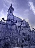 Basilique Notre Dame du Rosaire lourdes Photographie stock