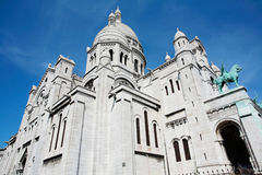 Basilique of Sacre Coeur Royalty Free Stock Image