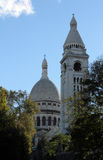 Basilique of Sacre Coeur, Montmartre, Paris Royalty Free Stock Photo