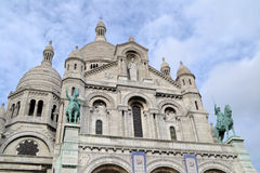 Basilique of Sacre Coeur in Paris Royalty Free Stock Images