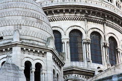 Basilique of Sacre Coeur, Paris Royalty Free Stock Photo