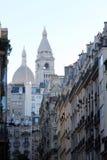 Basilique of Sacre Coeur, Paris Stock Images