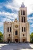Basilique Saint-Denis. Paris monument. Christian church - cathedrale Royalty Free Stock Photography