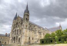 Basilique Saint Remi france reims Royaltyfri Foto