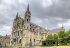 Basilique Saint-Remi. Reims, France Royalty Free Stock Photo