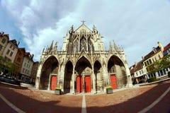 Basilique Saint-Urbain de Troyes Stock Photography