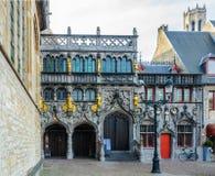 Basilique sainte de sang à Bruges, Belgique photos stock