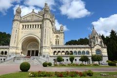 Basilique Sainte Thérèse àLisieux Fotografia Royalty Free