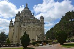 Basilique Sainte Thérèse à Lisieux Royalty Free Stock Images
