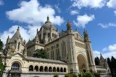 Basilique Sainte Thérèse à Lisieux Royalty Free Stock Photography