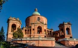 Basilique San Luca, Bologna, Italie Image libre de droits