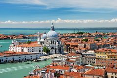 Basilique Santa Maria della Salute in Venice Royalty Free Stock Photos