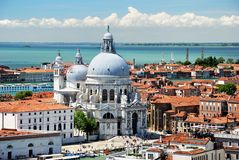 Basilique Santa Maria della Salute in Venice Stock Photos