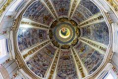 Basilique Santa Maria Maggiore Rome Italy de Dieu de dôme photo stock