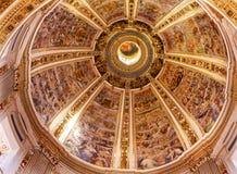 Basilique Santa Maria Maggiore Rome Italy de Dieu de dôme photos libres de droits