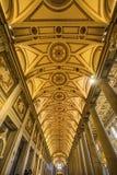 Basilique Santa Maria Maggiore Rome Italy de Nave image libre de droits