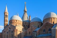 Basilique St Anthony dans la ville de Padoue image stock